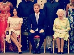 エリザベス女王、ハリー、メーガン